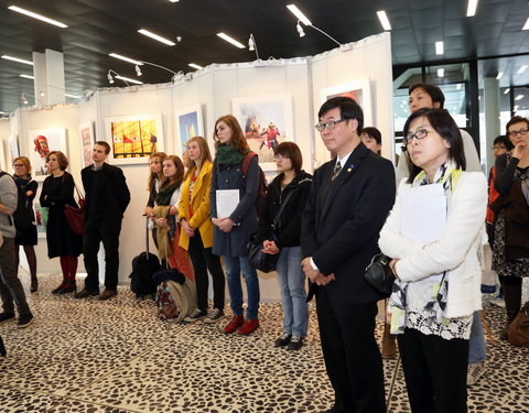 Opening fototentoonstelling 'A Narrative of Light and Shadow, Female photographers from Taiwan', in het kader van de Taiwan Week