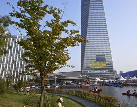 Northeast Asia Trade Tower (NEATT) in Songdo International Business District