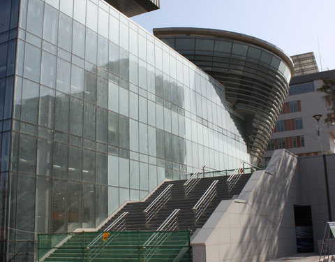 Ingang van de Songdo Global University Campus