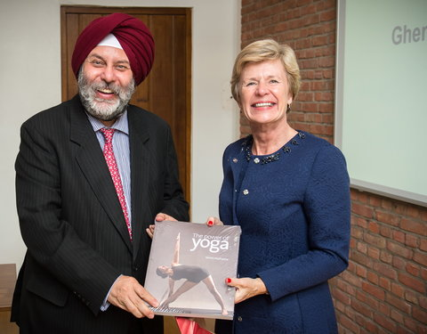 Meeting met ambassadeur van India