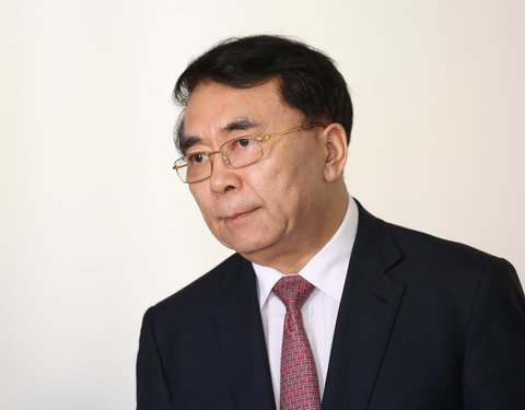 Bezoek president Chinese Academy of Sciences