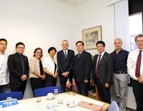 Delegatie Southwest University China