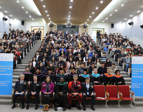 Orientation Day Ghent University Global Campus (Korea)