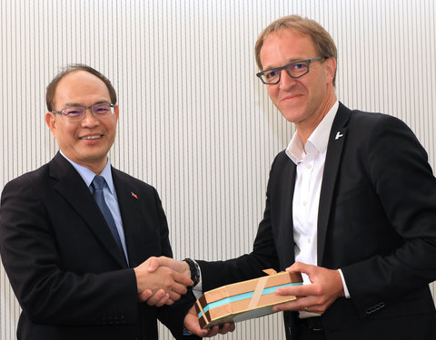 Bezoek 'Representative of the Taipei Representative Office to the EU and Belgium'